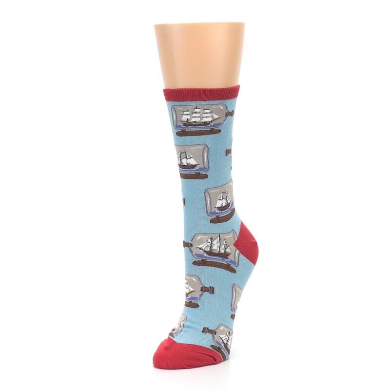 Ship in a Bottle Women's Sock