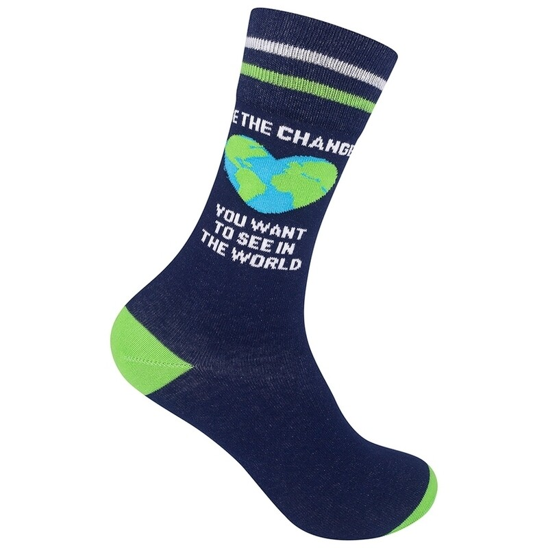 Be The Change Sock