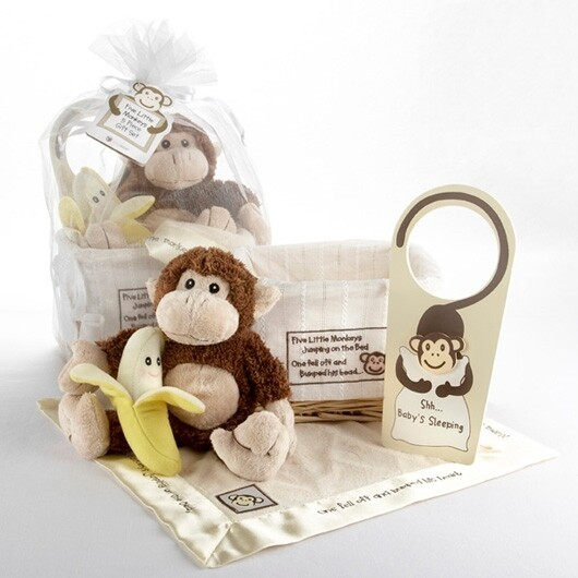 Five Little Monkeys Gift Set