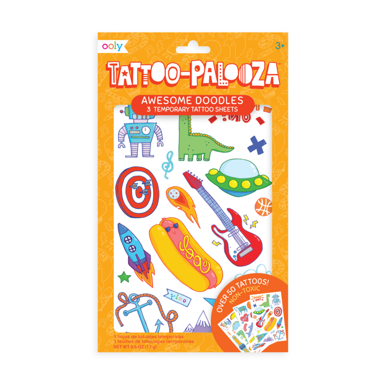Doodles Temporary Tattoos