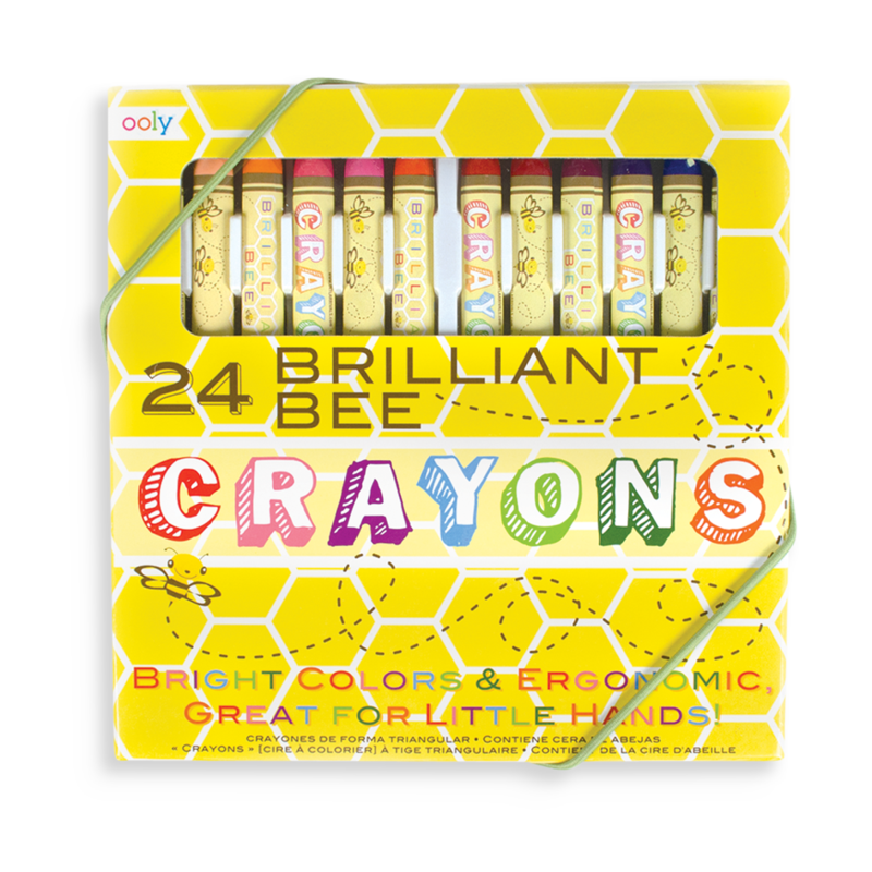 Brilliant Bee Wax Crayons