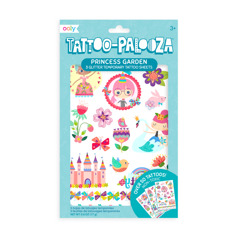 Princess Temporary Tattoos