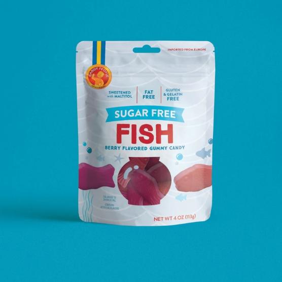 Fish Gummy Candy