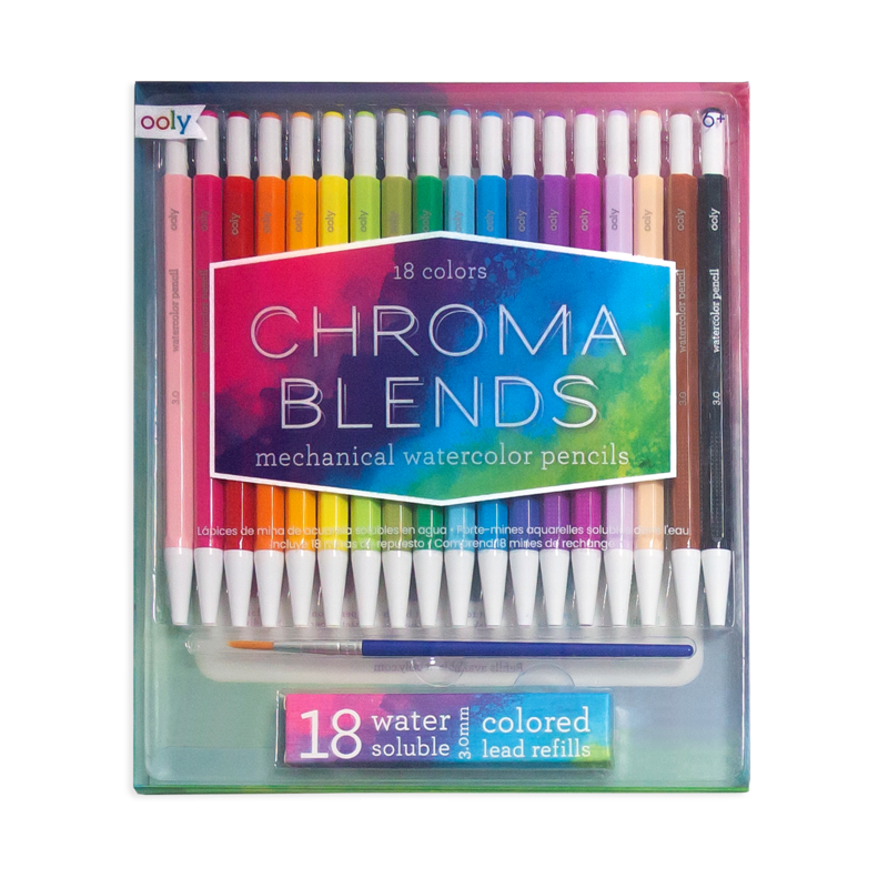 Mechanical Watercolor Pencils