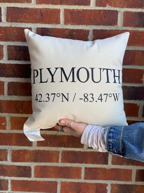 "Plymouth Pillow - 14""x14"""