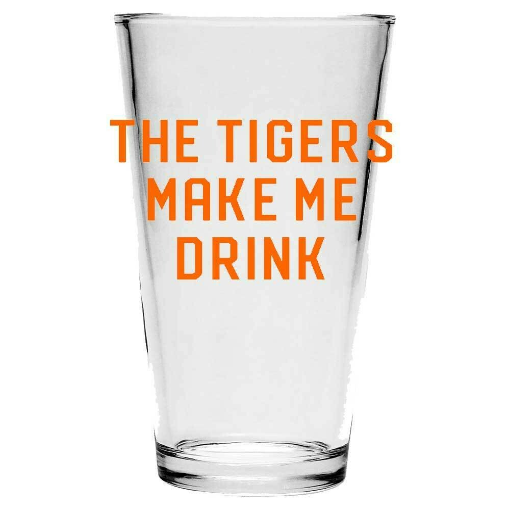 Tigers - Pint Glass