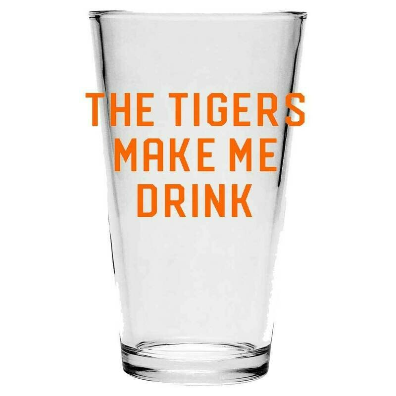 Tigers - Pint Glass
