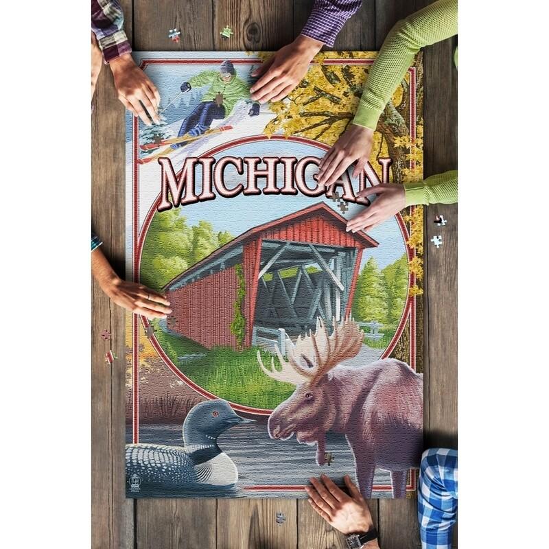 Michigan Scene Montage Puzzle