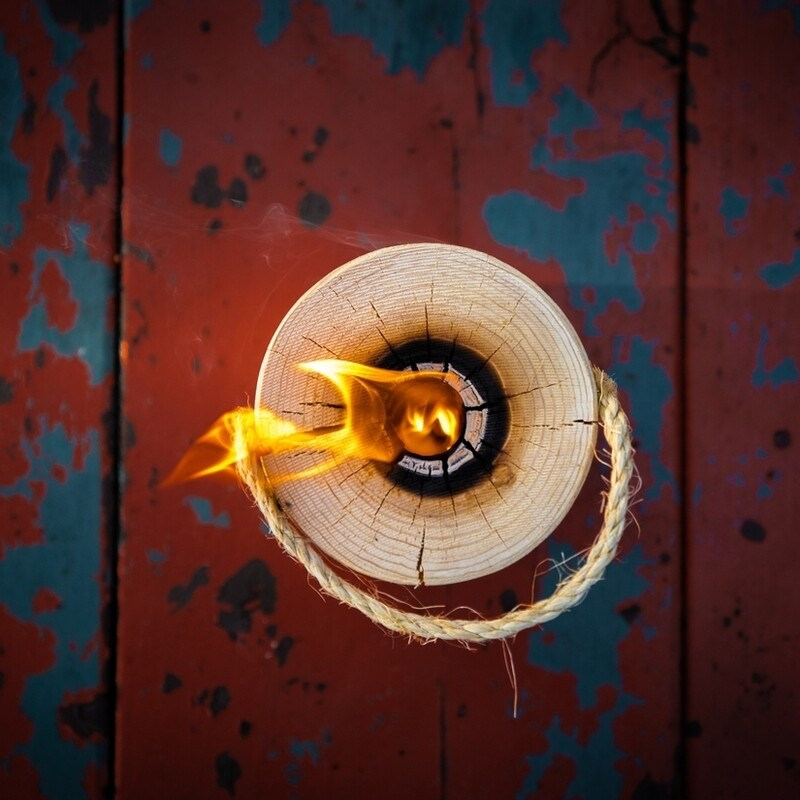 Portable Fire Log