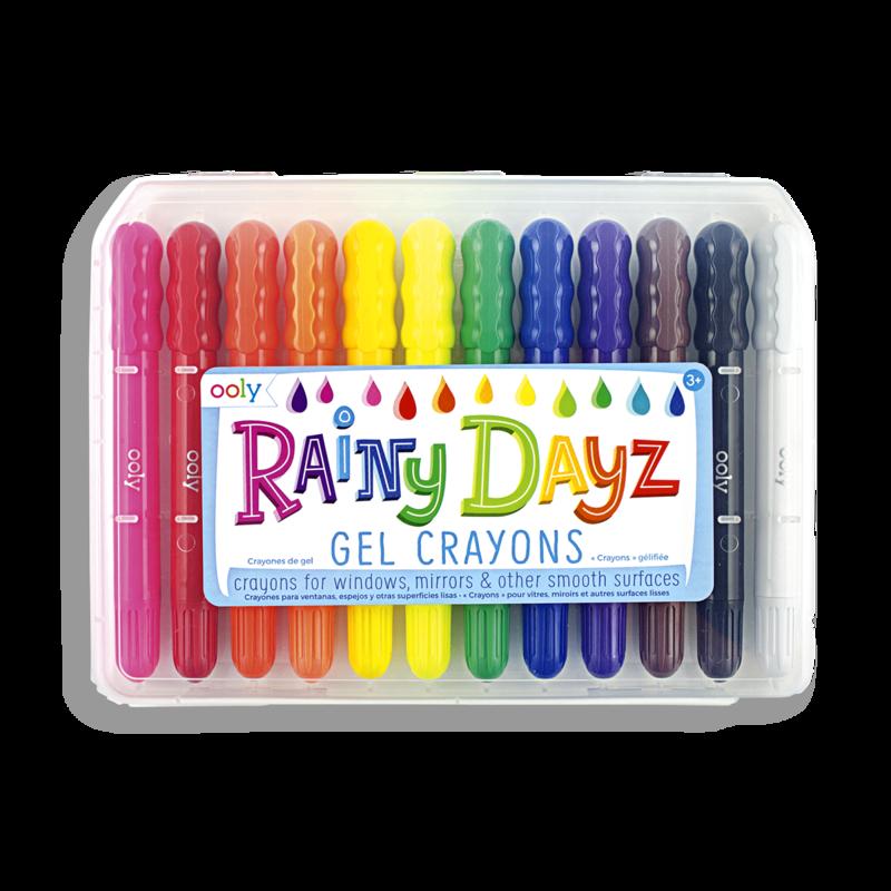 Rainy Day Gel Crayons