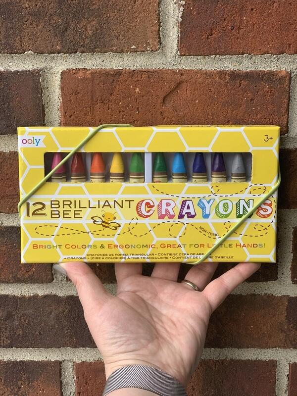 Brilliant Bee Wax Crayons