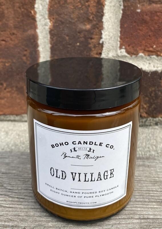 BoHo Old Village Candle