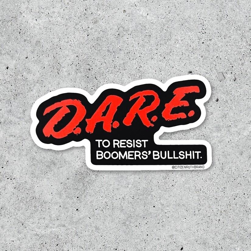 D.A.R.E Sticker
