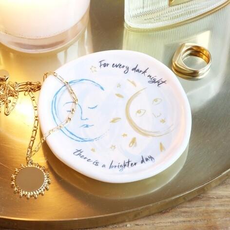 Sun and Moon Trinket Dish