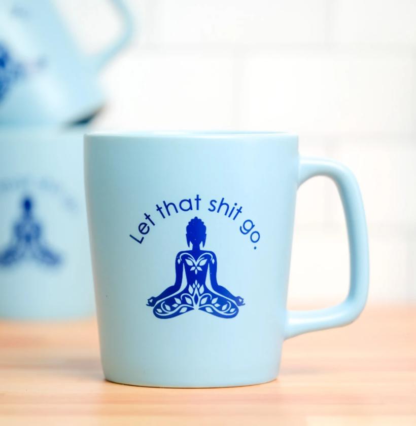 Let it Go Mug