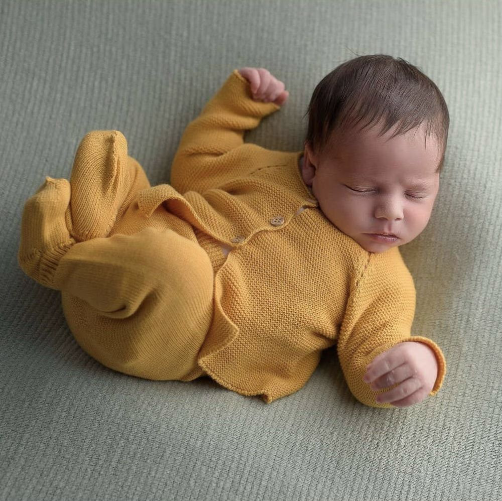 Newborn Set - Ochre