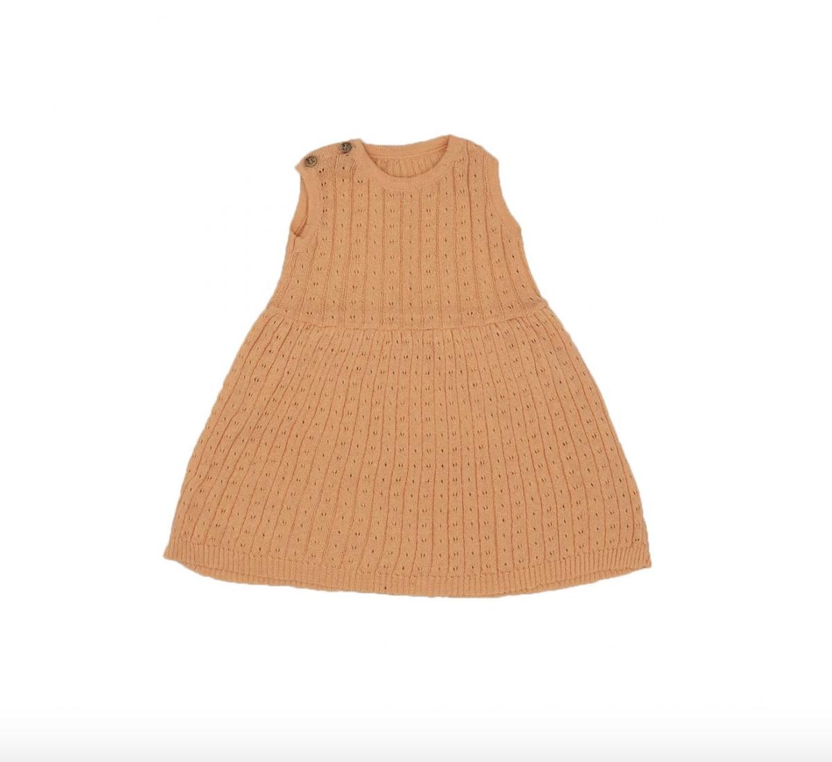 Knit Dress - Salmon