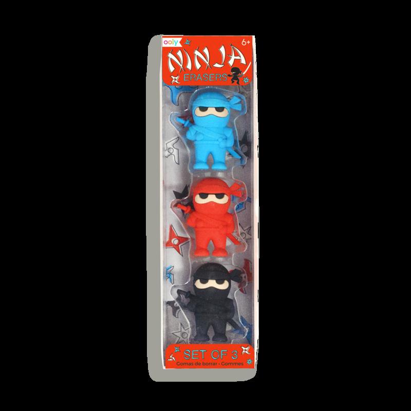 Ninja erasers