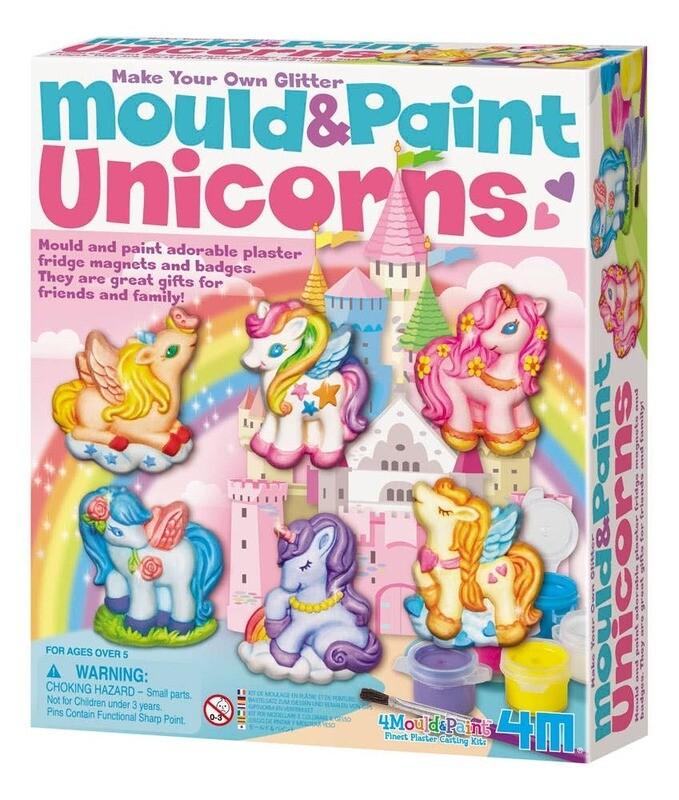 DIY Mould and Paint Unicorns