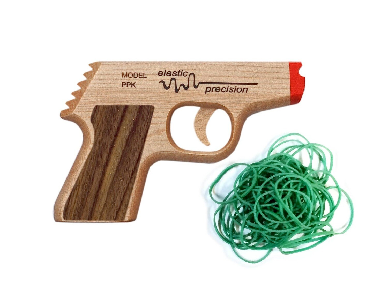 PPK Rubber Band Gun