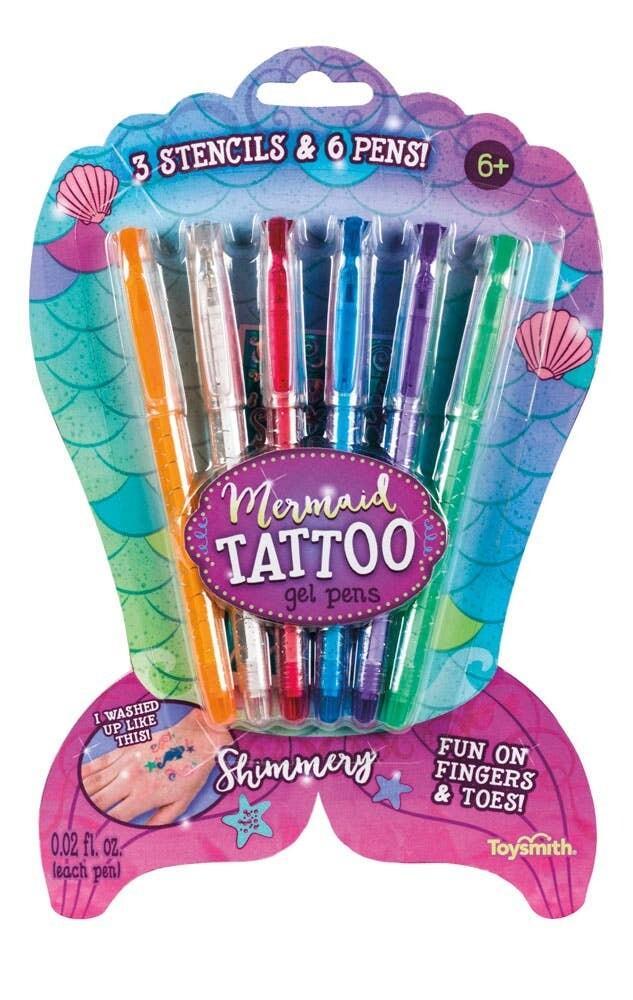 Mermaid Tattoo Gel Pens