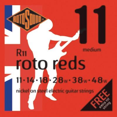 Rotosound R11 Roto Reds  Electric Set 11 - 48