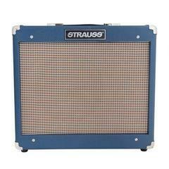 Strauss SVT-15R 15 Watt Valve Combo Amplifier with Reverb (Blue)