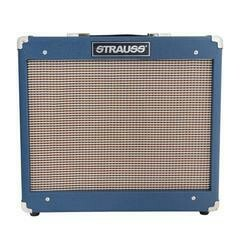 Strauss SVT-15R 15 Watt Valve Combo Amplifier with Reverb (Blue)