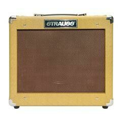 Strauss Legacy 'Vintage' 35 Watt Solid State Bass Amplifier Combo (Tweed)