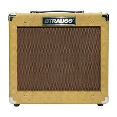 Strauss Legacy 'Vintage' 35 Watt Solid State Guitar Amplifier Combo (Tweed)