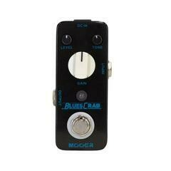 Mooer Blues Crab Classic Blues Overdrive Micro Guitar Effects Pedal