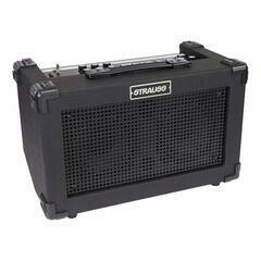 Strauss 'Streetbox' 20 Watt Solid State Rechargeable DC Amplifier (Black)