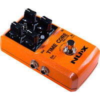 NU-X Core Stompbox Series Time Core Deluxe Delay Effects Pedal Crystal Clear, Incredibly Ambient!