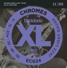 D'Addario XL Chromes Jazz Light Set 11-50