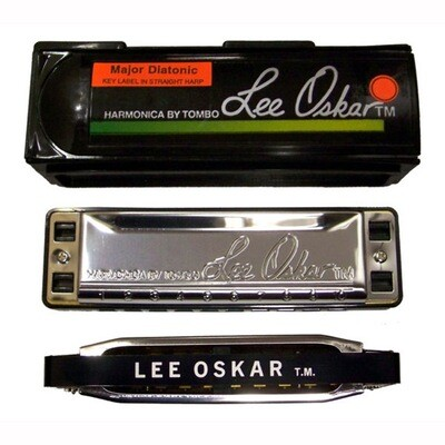 Lee Oskar blues / major diatonic harmonica, in the key of B-flat