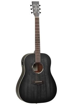 Tanglewood TWBBSDE Blackbird Dreadnought Acoustic Electric Guitar - Smokestack Satin