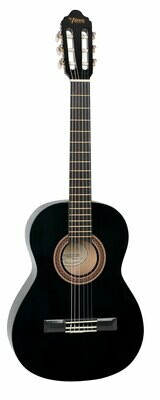 Valencia Series 100 4/4 Size Classical Guitar Black