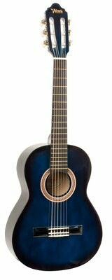 Valencia Series 100 1/2 Size Classical Guitar Blue