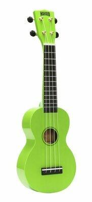 Mahalo Ukulele R Series - Soprano Green