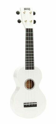 Mahalo Ukulele R Series - Soprano White