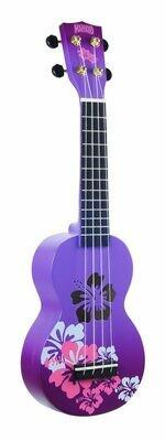 Mahalo Ukulele Designer Series - Soprano Purple Burst