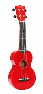 Mahalo Ukulele R Series - Soprano Red