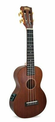 Mahalo Ukulele Java Series – Concert Electric Acoustic Transparent Brown