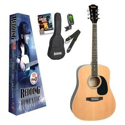 Redding RED50PK Acoustic Steel String Guitar Pack