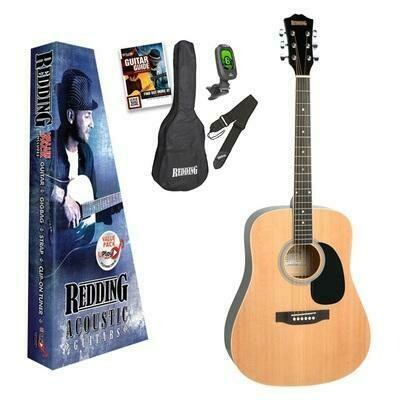 Redding RED50PK Acoustic Steel String Guitar Pack