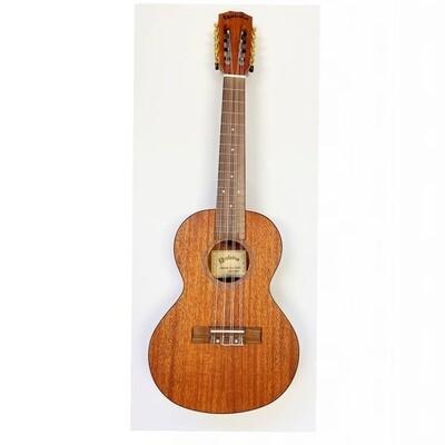 Kealoha KU-Series 8-String Tenor Ukulele in Natural Satin Finish