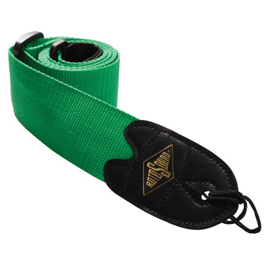 Rotosound Green Webbing Strap