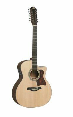 Gilman GA112CE Grand Auditorium 12-String Acoustic/Electric Guitar
