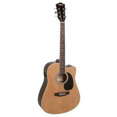 Redding RED50CE Acoustic/Electric Guitar with cutaway
