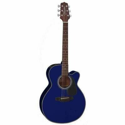 Takamine TED2NCBLU D2 Series NEX AC/EL Guitar Cutaway Blue